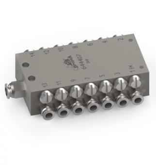 Прогресивні розподільники серії SMP/SMP з нержавіючої сталі