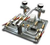 Панель моніторингу потоку в дволінійній системі мастила (DLFM)