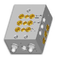 Прогресивні розподільники SXO з алюмінієвим корпусом